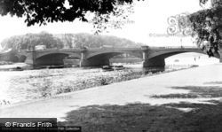 Nottingham, Trent Bridge c.1950