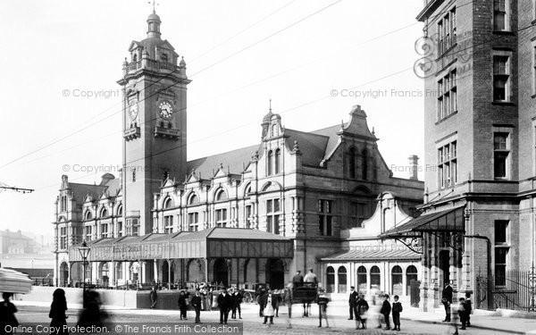 Nottingham, Victoria Station 1902