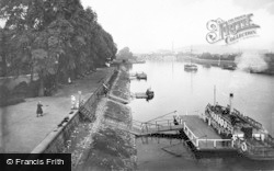 Nottingham, View From The Trent Bridge 1920