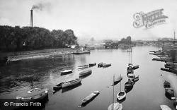 Nottingham, View From The Trent Bridge 1920