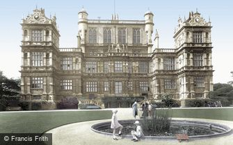 Nottingham, Wollaton Hall 1928