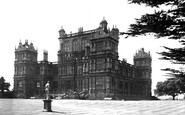 Nottingham, Wollaton Hall c1950