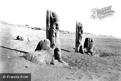 Colossi And Sphynx At Wady Saboua 1860, Nubia