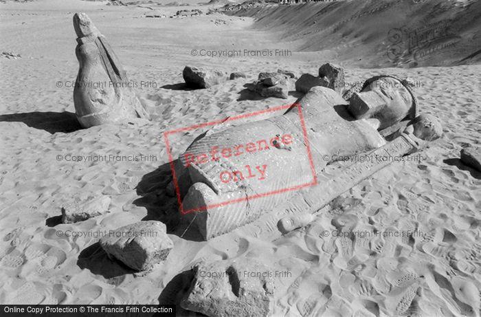 Photo of Nubia, Colossus Of Rameses II, Wadi Saboua 2004