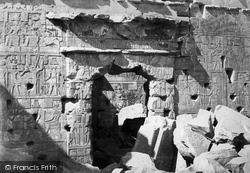 Nubia, Doorway In The Temple Of Kalabshe 1860