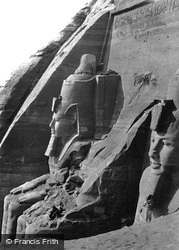 Nubia, Facade Of The Great Temple Of Abou Simbel From The West 1857
