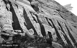 Nubia, Facade Of The Smaller Temple, Abou Simbel 1860