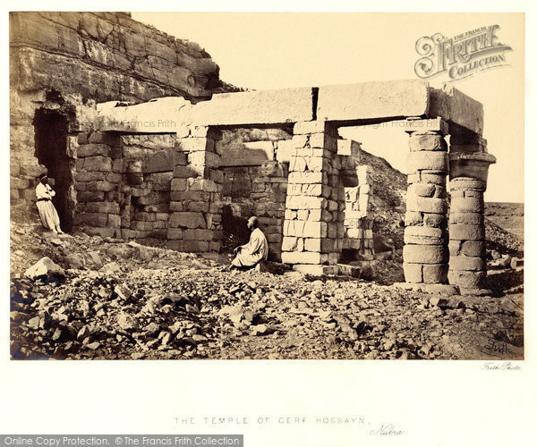 Photo of Nubia, Portico Of The Temple Of Gerf Hossayn 1860