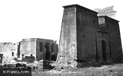 Nubia, The Temple Of Dakkeh 1857