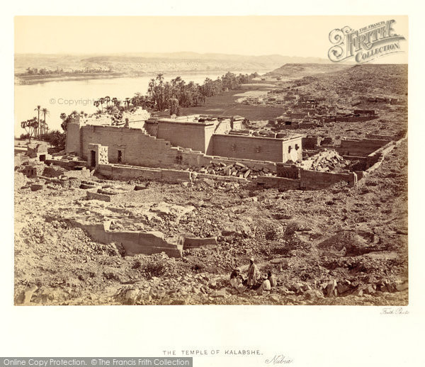 Photo of Nubia, The Temple Of Kalabshe 1860