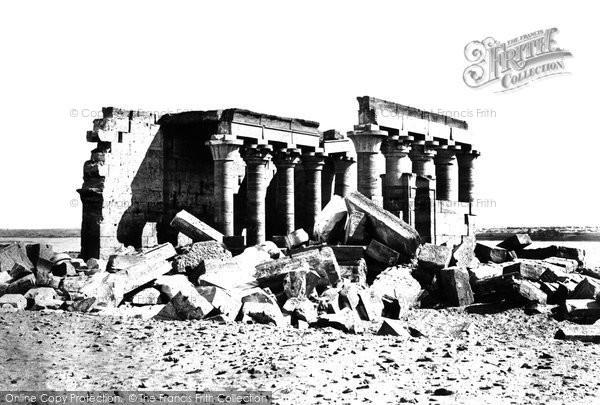 Photo of Nubia, The Temple Of Maharraka 1860