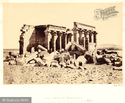 Nubia, The Temple Of Maharraka 1860