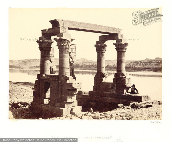 Photo of Nubia, The Temple Of Wady Kardassy 1857