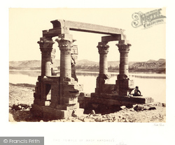 Nubia, The Temple Of Wady Kardassy 1857