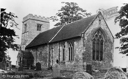 Nunburnholme, Church c.1955