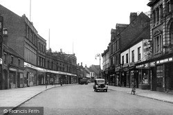 Nuneaton, Abbey Street c.1945