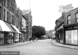 Nuneaton, Church Street c.1945