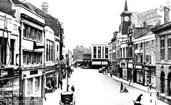 Nuneaton, Market Place 1947
