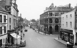Nuneaton, Market Place c.1945