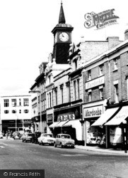 Nuneaton, Market Place c.1960