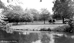 Nuneaton, Riversley Park c.1955