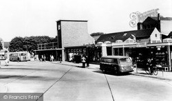 Nuneaton, The Bus Station c.1960