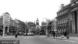 Nuneaton, Town Centre 1957