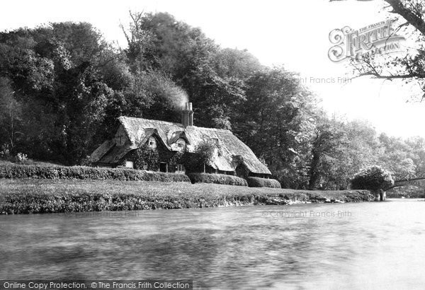 Photo of Nuneham Courtenay, Cottage And Bridge c.1881
