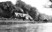 Nuneham Courtenay, the Bridge c1881