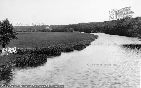 Nuneham Courtenay, from Rly Bridge 1890