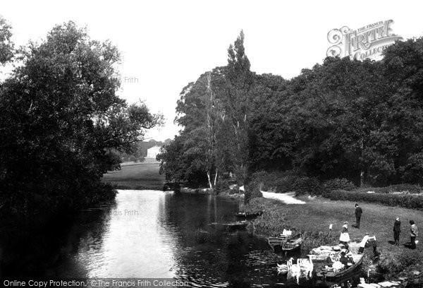 Nuneham Courtenay, from the Bridge 1890