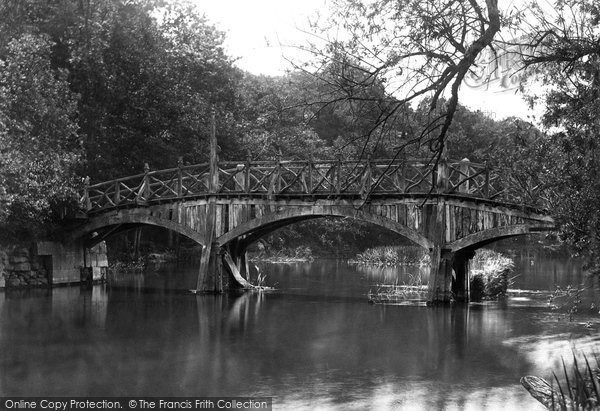 Nuneham Courtenay, the Bridge c1881