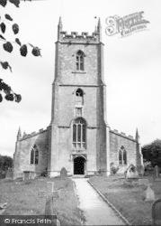 All Saints Church c.1955, Nunney