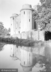 Nunney, Castle, The Reflections c.1960