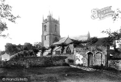 Nunney, Church Of All Saints And Castle 1907