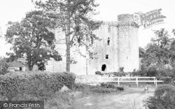 The Castle c.1955, Nunney