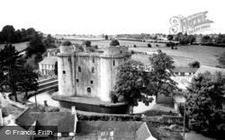 The Castle c.1960, Nunney