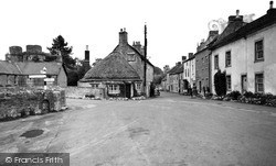 The Market Place c.1955, Nunney