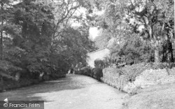 Nunney, The Trout Stream c.1955