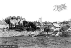 Nunney, The Village And Castle 1907