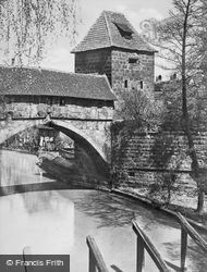 Bridge c.1930, Nuremburg