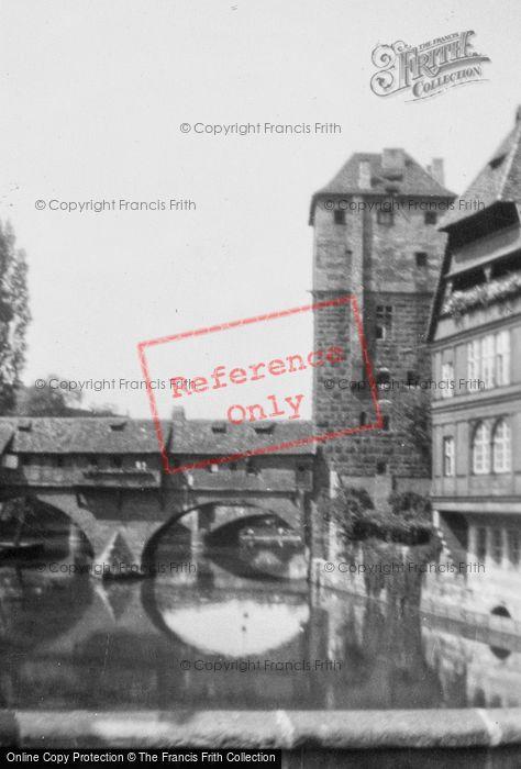 Photo of Nuremburg, Bridge Over Pegnitz c.1938