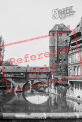 Bridge Over Pegnitz c.1938, Nuremburg