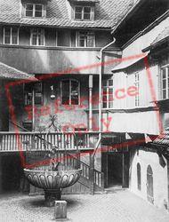 Courtyard c.1930, Nuremburg