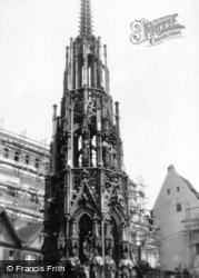 Fountain c.1938, Nuremburg