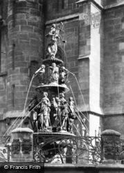 Fountain Of Virtues c.1930, Nuremburg