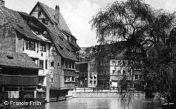 Houses On The River c.1930, Nuremburg