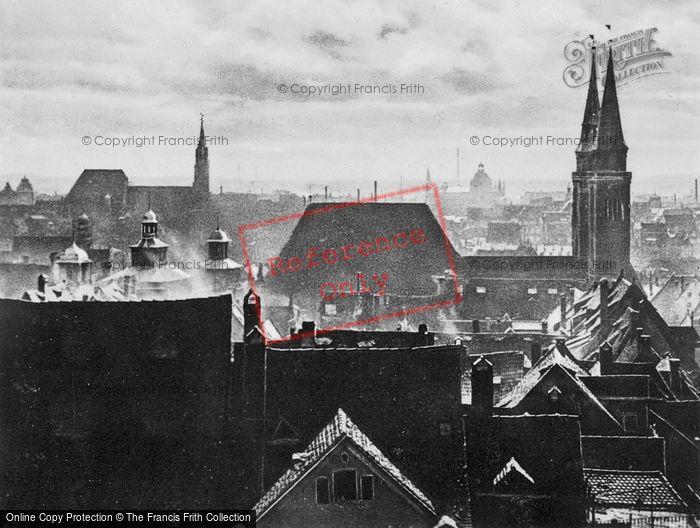 Photo of Nuremburg, Rooftops c.1930