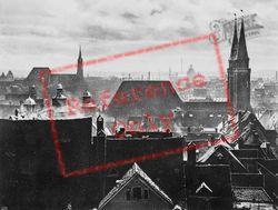 Rooftops c.1930, Nuremburg