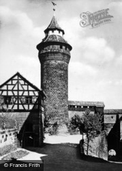 Sinwell Tower c.1930, Nuremburg
